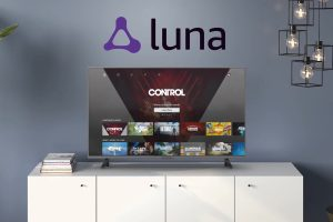 Amazon Luna interfaccia