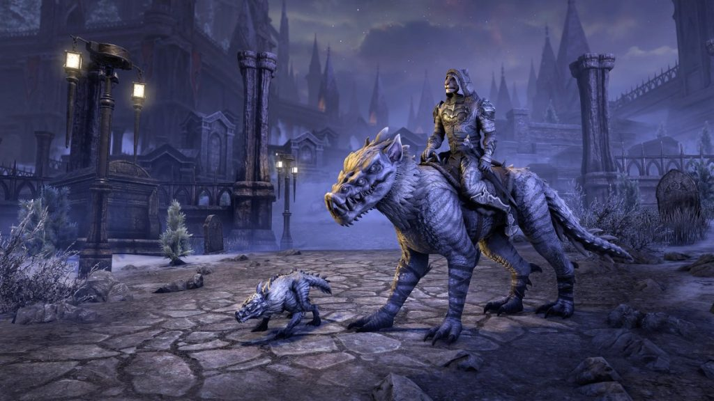 elder scrolls online mount and pets stonethorn