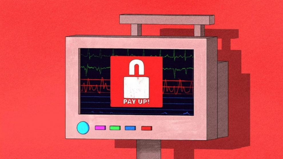 Ransomware ospedale