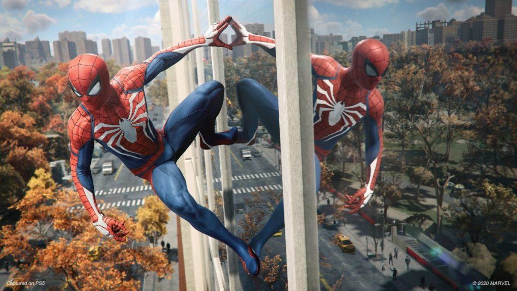 Screnshot del nuovo Spider-Man Remastered