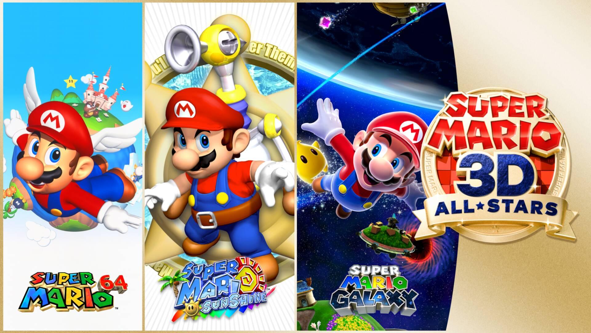 Super Mario nella collection nintendo