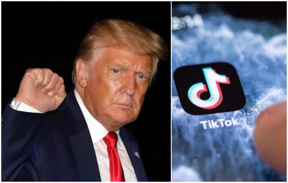 Trump TikTok Ban app cinesi
