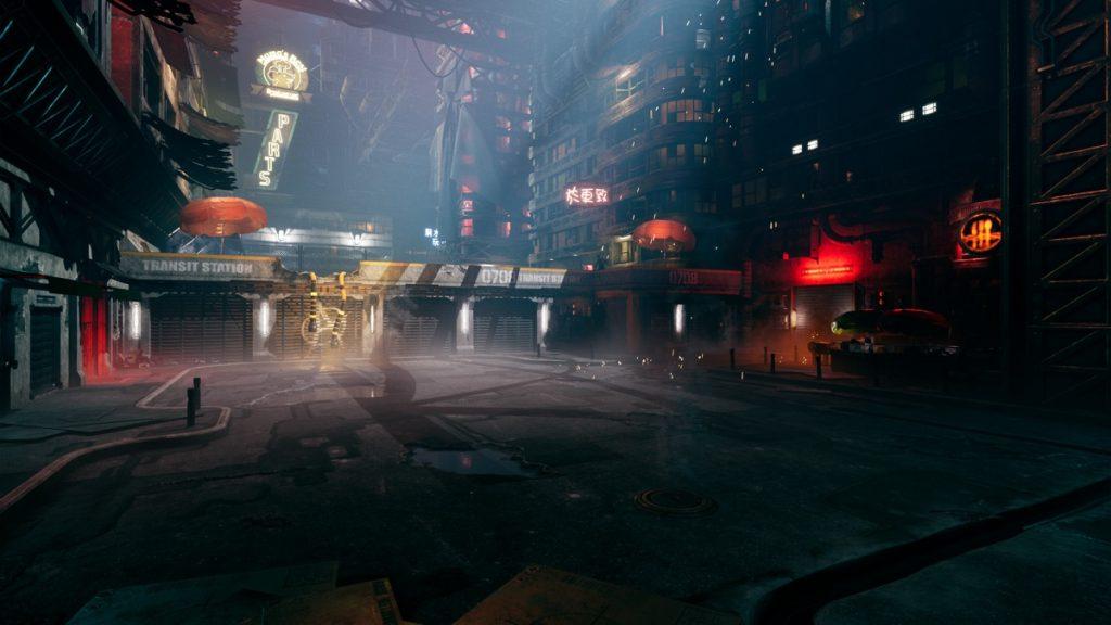 Città in Ghostrunner