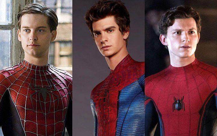 3 spiderman assieme