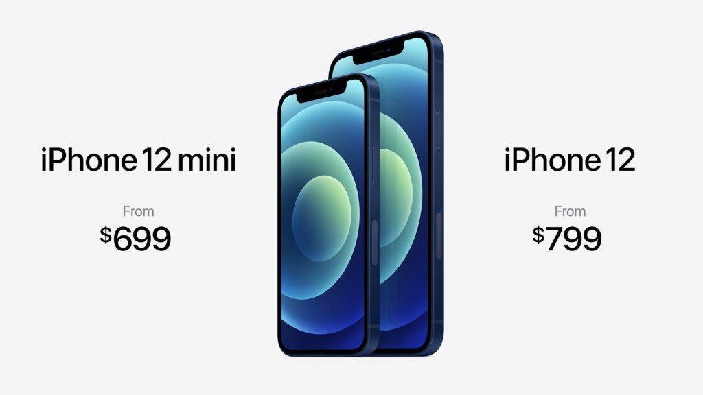 iPhone 12 Mini e iPhone 12 Apple