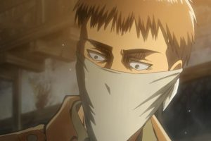 attack on titan - attacco dei giganti - jean - masks - mascherine