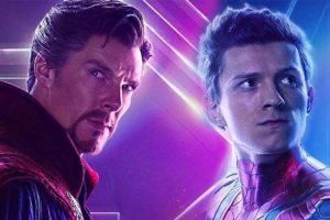 spiderman 3/tom holland Benedict Cumberbatc