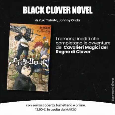 Black Clover Novel - Planet Manga