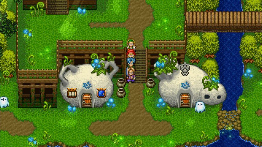 Dragon Quest XI S: Edizione Definitiva gameplay 2D