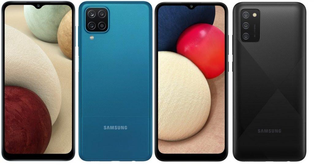 Samsung Galaxy A12 e A02s