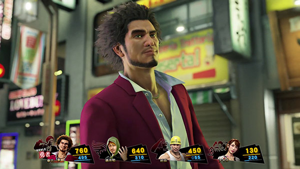 Screenshot del primo video di Yakuza: Like a dragon uscito 1 aprile 2019