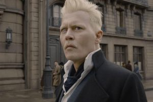 johnny depp animali fantastici Grindelwald