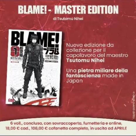 Blame - Master Edition - Planet Manga
