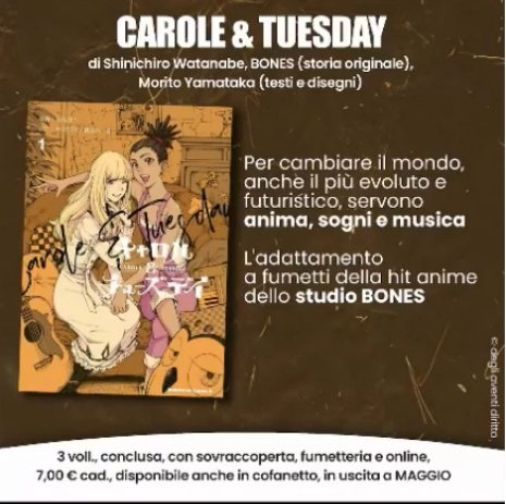 Carole & Tuesday - Planet Manga