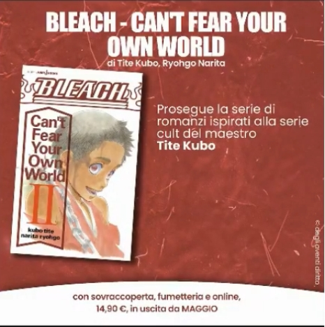 Bleach - Can't Fear Your Own World - Planet Manga