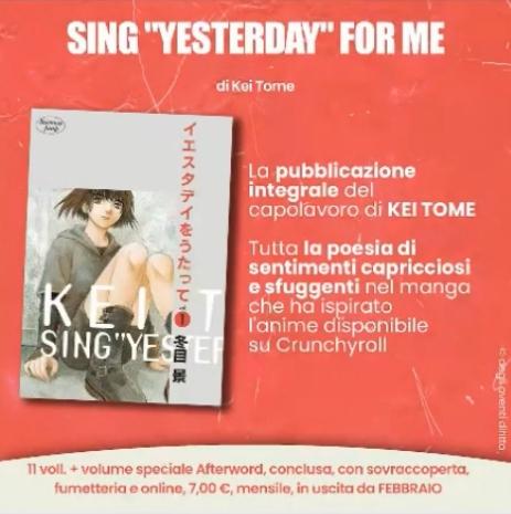 "Sing ""Yesterday"" For Me - Planet Manga"