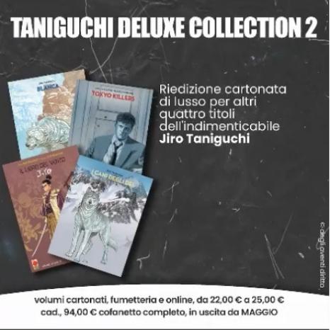 Taniguchi Deluxe Collection 2 (Blanca, Tokyo Killers, I cani degli dei e Il libro del vento) - Planet Manga