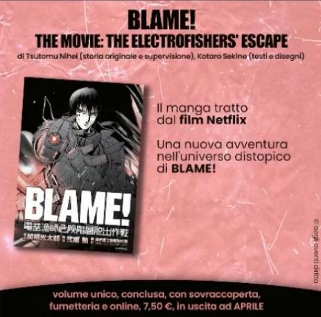 Blame! The Movie: The Electrofishers' Escape - Planet Manga