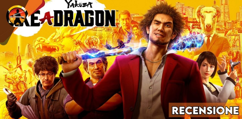 Copertina recensione Yakuza: Like a dragon