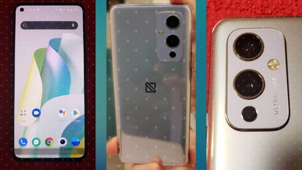 OnePlus 9 immagini foto leak