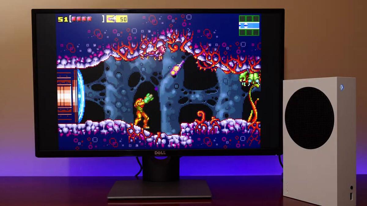 Xbox Series S in emulazione
