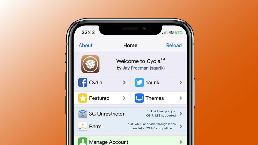 Cydia Apple App Store
