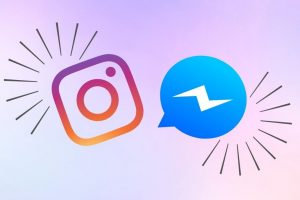 Facebook Messenger e Instagram logo