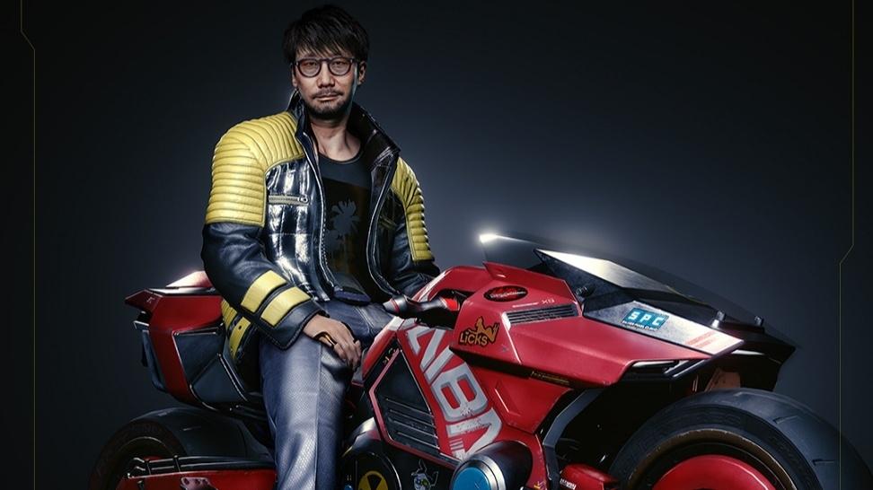 Modello di Kojima presenza in cyberpunk 2077