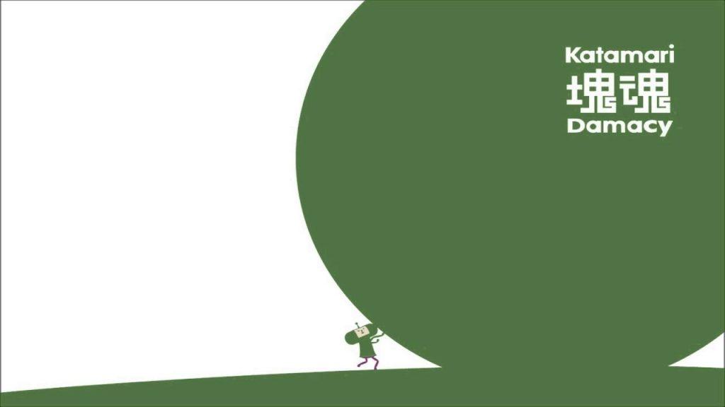Katamari Damacy copertina minimal verde