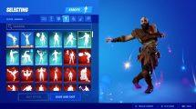 Kratos ballo Fortnite