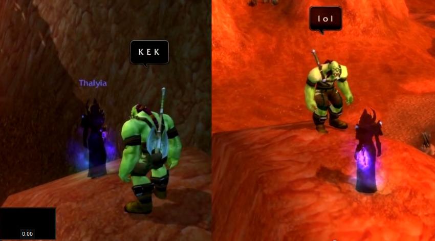 World of Warcraft orc kek lol