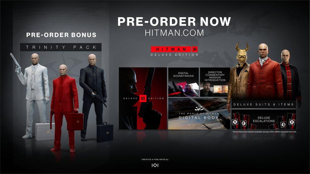 hitman 3 deluxe