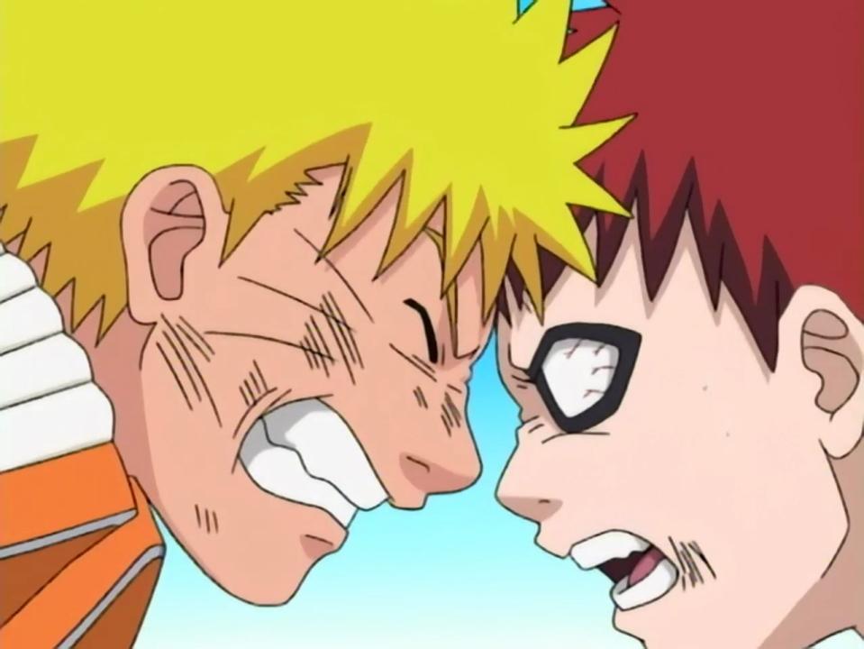 Naruto e Gaara