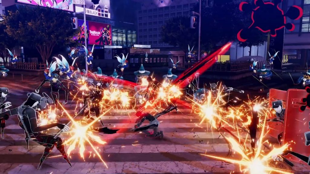 persona 5 strikers combat system