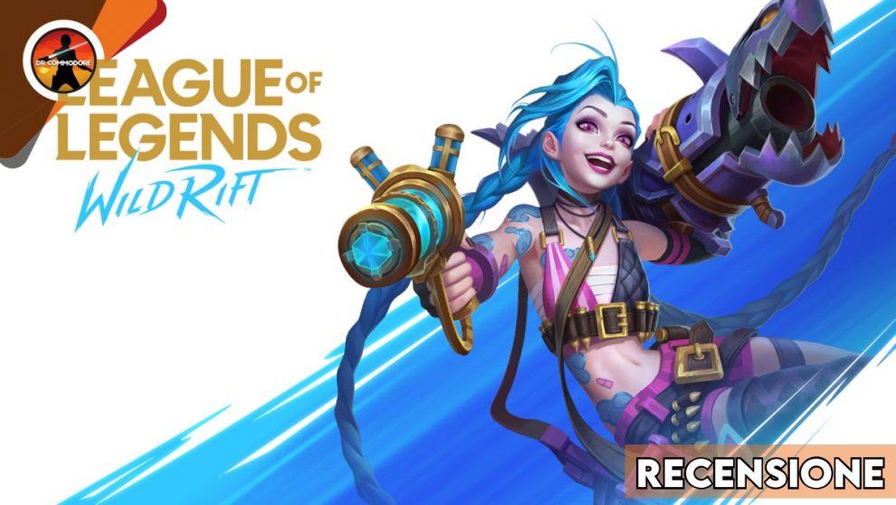 league of legends wild rift copertina recensione