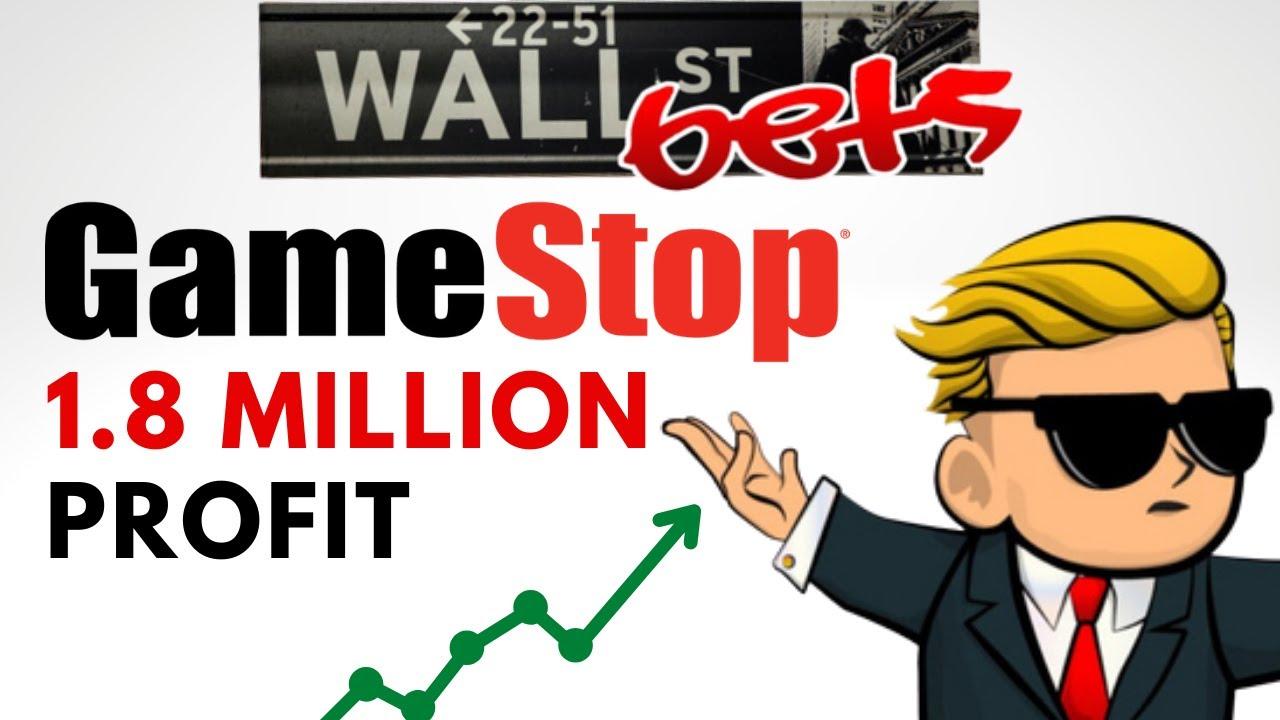 Wall Street Bets Reddit Gamestop