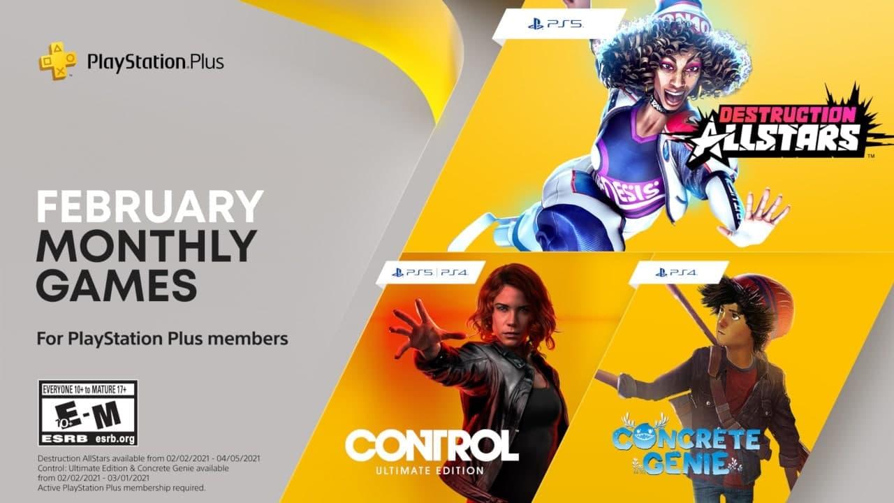 PlayStation Plus, giochi febbraio 2021
