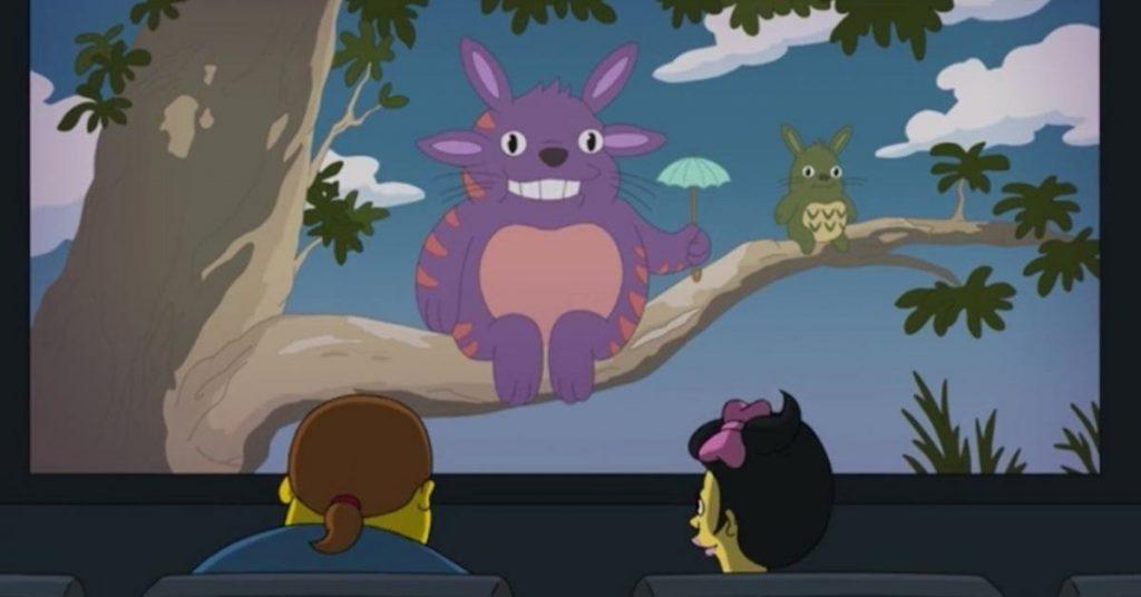 Il Mio vicino Totoro omaggio