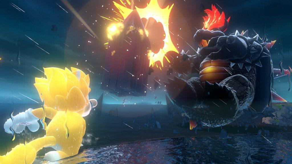 Mario Gatto contro Bowser