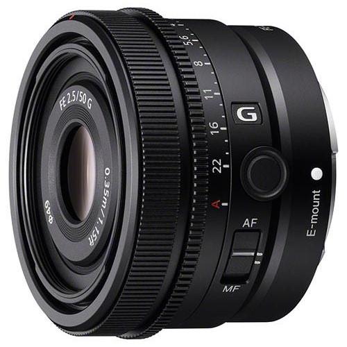 Sony annuncio FE 24mm f/2.8 G, FE 40mm f/2.5 G, FE 50mm f/2.5 G