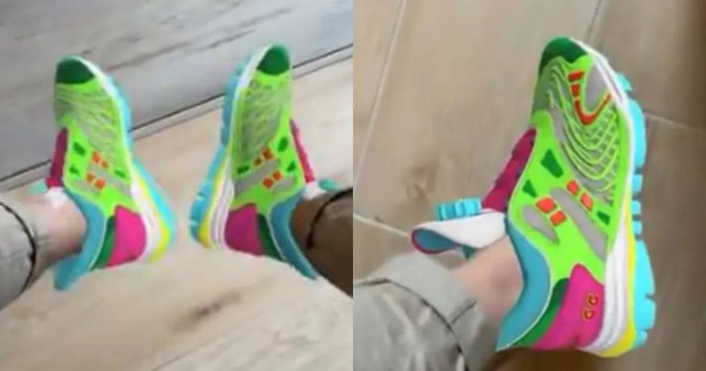 Gucci Scarpe virtuali Sneaker