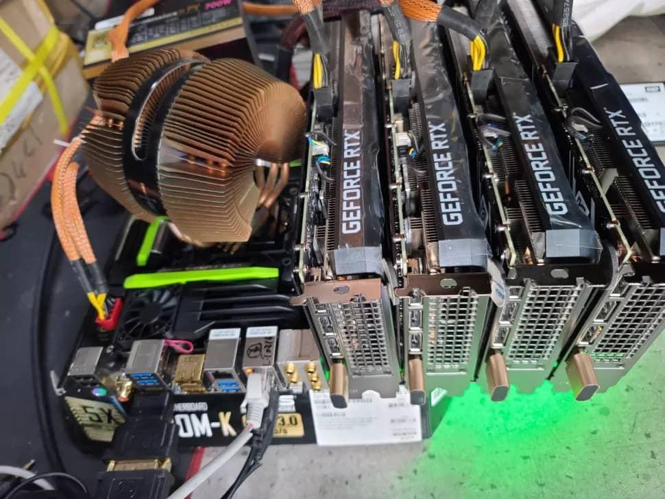 NVIDIA GeForce RTX 3060 mining set