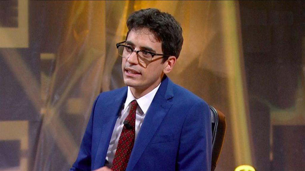 Valerio Lundini in Una Pezza di Lundini