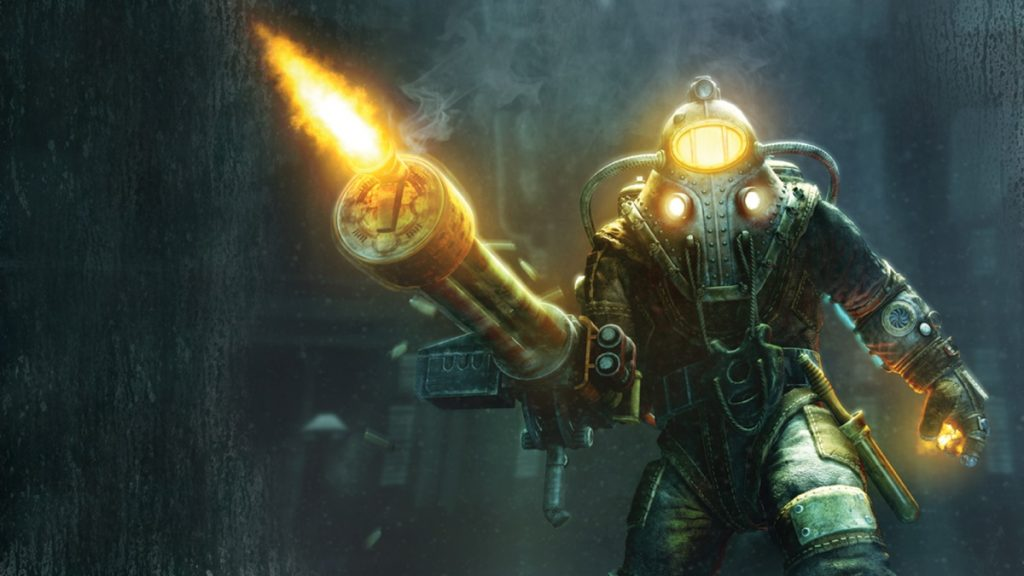 bioshock 2 delta artwork concept