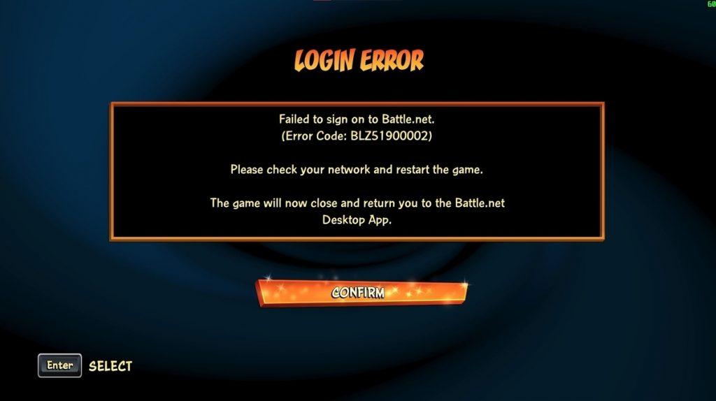 schermata errore login crash bandicoot 4