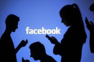 Facebook logo con persone e utenti