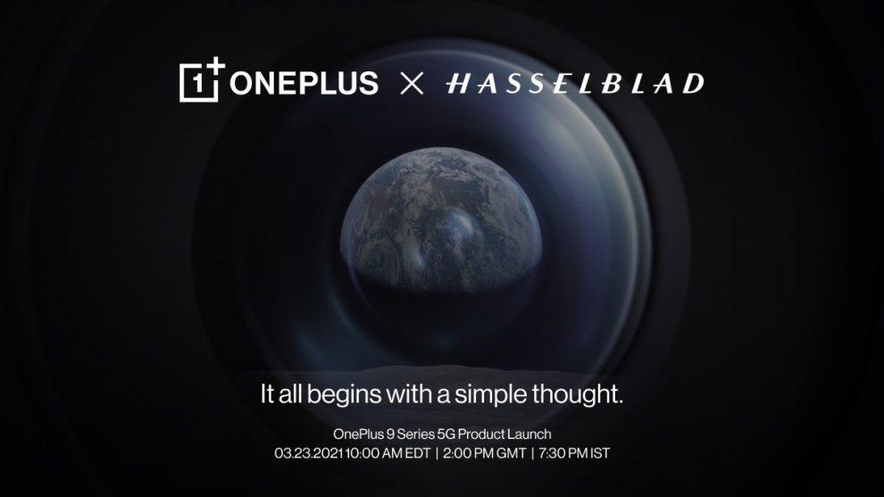 OnePlus 9 Hasselblad partnership