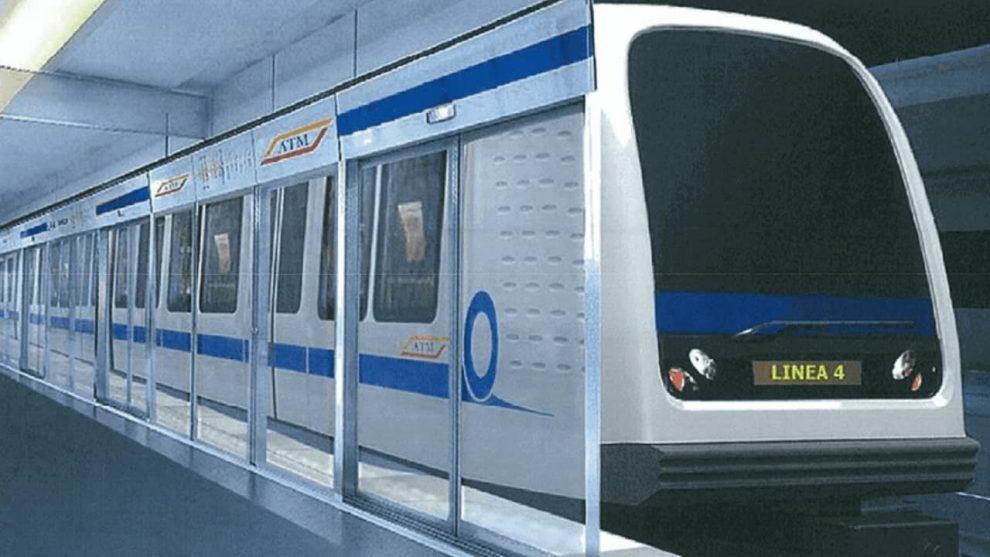 Metropolitana 5G linea m4 Milano