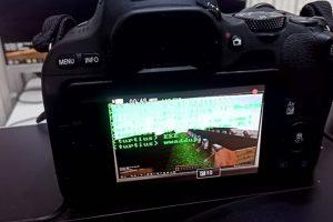 Minecraft Canon EOS 200D