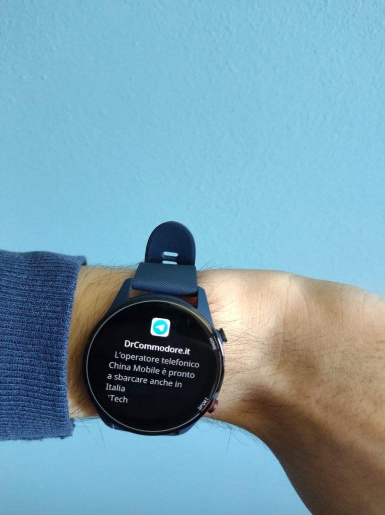 Xiaomi Mi Watch Notifica DrCommodore